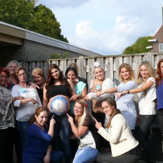 Body schminkstudio bellypaint babyshower beertje group logo