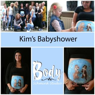 Body schminkstudio blogboard babyshower knabbel en babbel