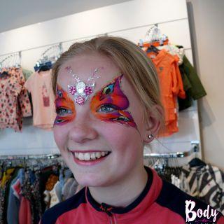 Body schmink studio 4 jaar new kids by demi vlinder gemert