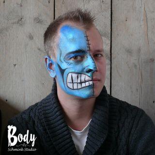 Body schmink studio double face foto side cafe thuis beek en donk