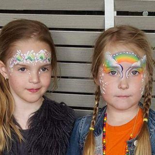 Body schmink studio flower girl en rainbow cafe thuis beek en donk