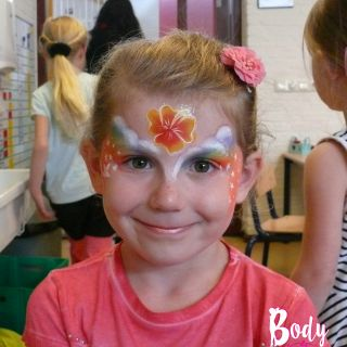 Body schmink studio orage hibiscus hawaii muldershof beek en donk