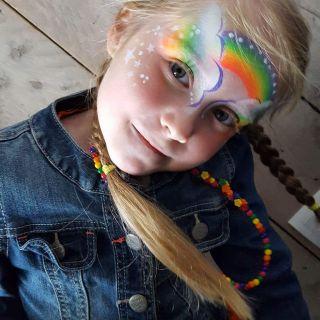 Body schmink studio rainbow cafe thuis beek en donk