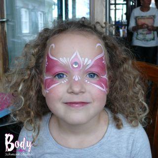 Body schmink studio schminken roze princess cafe thuis beek en donk 2