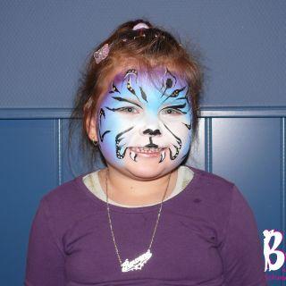 Body schminkstudio schmink color tiger zorgboog pannehoeve