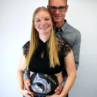 Body schmink studio bellypaint echo beek en donk photo couple 3 logo