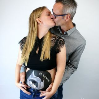 Body schmink studio bellypaint echo beek en donk photo couple 5 logo