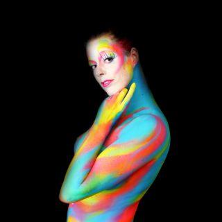 Body schmink studio bodypaint abstract happy colors 4