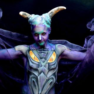 Body schmink studio bodypaint dragon 2017 4