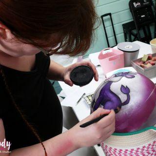 Body schmink studio cursus bellypaint baby cow beek en donk 4