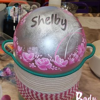 Body schmink studio cursus bellypaint pink flowers and baby name mijnwwinkeltje helmond