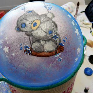 Body schmink studio cursus bellypaint teddy beek en donk