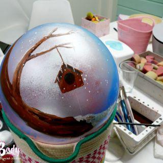 Body schmink studio cursus bellypaint tree beek en donk 3