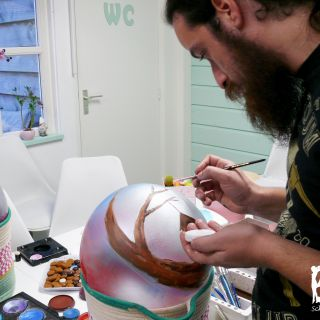 Body schmink studio cursus bellypaint tree beek en donk