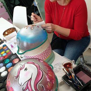 Body schmink studio cursus bellypaint unicorn beek en donk 4