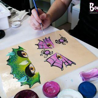 Body schmink studio cursus one stroke halloween beek en donk