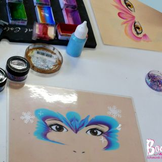 Body schmink studio cursus one stroke princess beek en donk 2