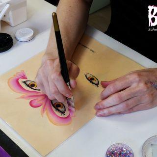 Body schmink studio cursus one stroke princess beek en donk