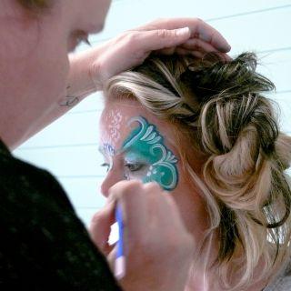 Body schmink studio cursus basis schminken beek en donk princess