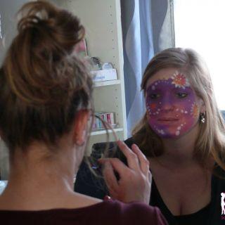 Body schmink studio cursus basis schminken carnaval