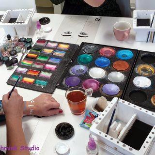 Body schmink studio cursus basis schminken penseel techniek beek en donk 5
