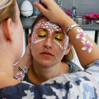 Body schmink studio cursus basis schminken princess beek en donk 3