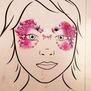 Body schmink studio cursus basis schminken princess bloemen beek en donk 2_1