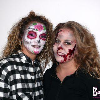 Body schmink studio face painting carnaval zombie sugarskull