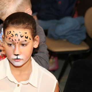 Body schmink studio face painting puma