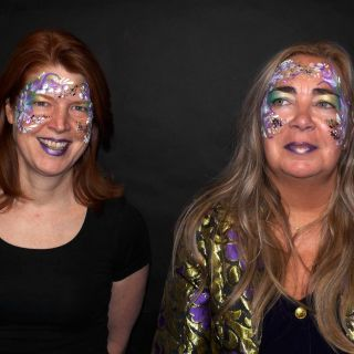 Body schmink studio flowers carnaval 2019 beek en donk
