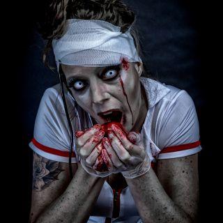Body schmink studio halloween zombie nurse beek en donk 4