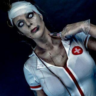 Body schmink studio halloween zombie nurse beek en donk 6