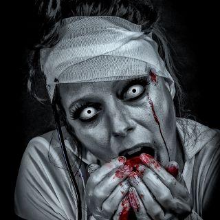 Body schmink studio halloween zombie nurse beek en donk