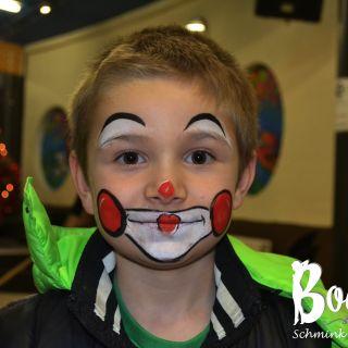 Body schmink studio kind schmink kerstfeest clown