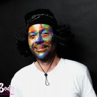 Body schmink studio multicolor che carnaval 2019 beek en donk