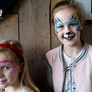 Body schmink studio schminken blue tiger cafe en one stroke thuis beek en donk