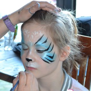 Body schmink studio schminken blue tiger cafe thuis beek en donk 3