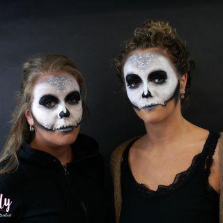 Body schmink studio sugarskulls carnaval 2019 beek en donk