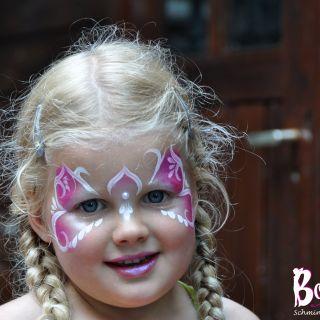 Body schmink studio feest princess heeze 2 logo