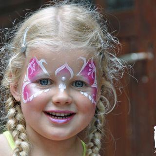 Body schmink studio feest princess heeze 3 logo