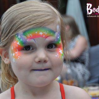 Body schmink studio feest rainbow heeze 4 logo
