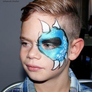 Body schmink studio kindefeest blue monster helmond