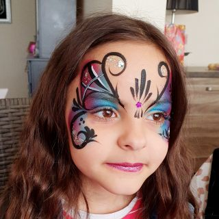 Body schmink studio kinderfeest butterfly helmond 4