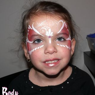 Body schmink studio kinderfeest corail princess stiphout helmond logo