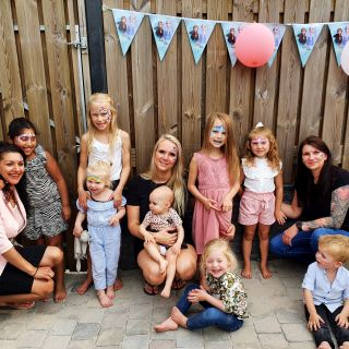 Body schmink studio kinderfeest eindhoven foto groep 2