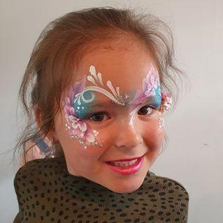 Body schmink studio kinderfeest extra bling bling one stroke helmond 2  kopie