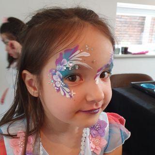 Body schmink studio kinderfeest extra bling bling one stroke helmond 3