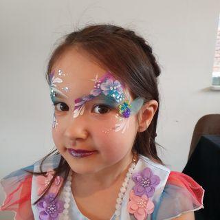 Body schmink studio kinderfeest extra bling bling one stroke helmond 4