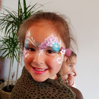 Body schmink studio kinderfeest extra bling bling one stroke helmond