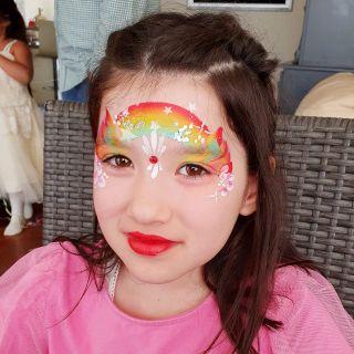 Body schmink studio kinderfeest one stroke helmond 2